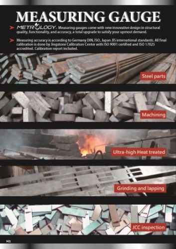 Gauge Blocks (Steel,Carbide,Ceramic)