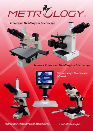Trinocular Metallurgical / Tool Microscope