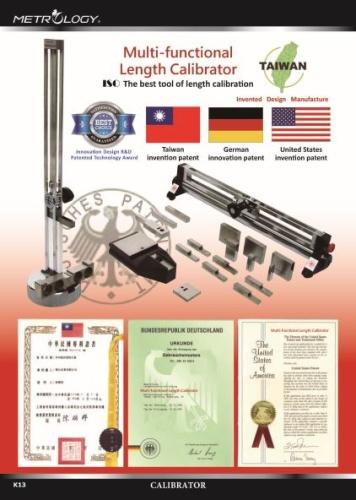 Multi-functional Length Calibrator