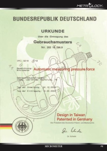 Germany patent